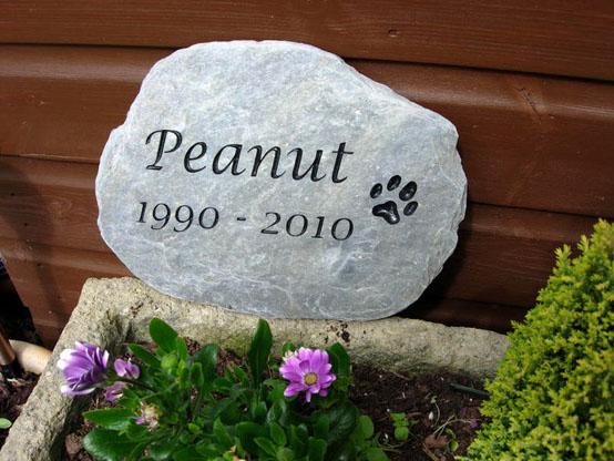 real slate memorial